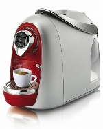 Кофемашина капсульная Caffitaly system S04 Argento red/silver