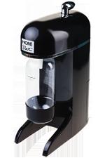 Сифон для газирования воды Home Bar Multishot black