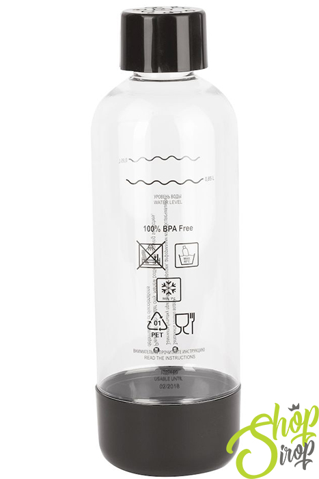 Бутылка HOME BAR Bottle 1L NG, Черная