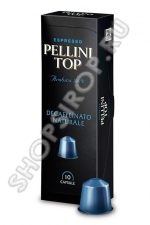 Кофе Pellini TOP Decaffeinato naturale, капсулы, 5 гр., 10 шт.
