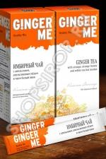 Ginger Me Имбирный черняга из апельсином, апельсиновым мёдом равным образом чаем кипень пион